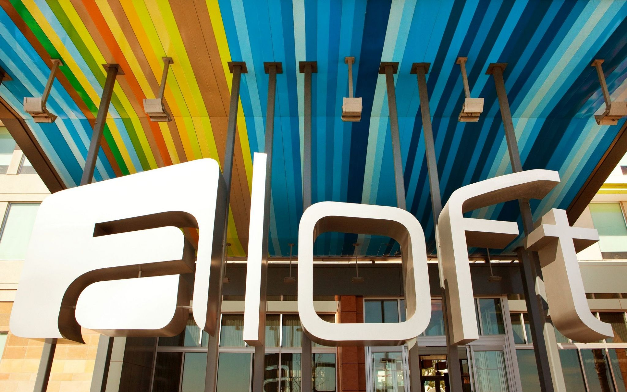 Aloft features